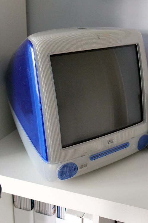 Why he needs to keep this old iMac is beyond me!