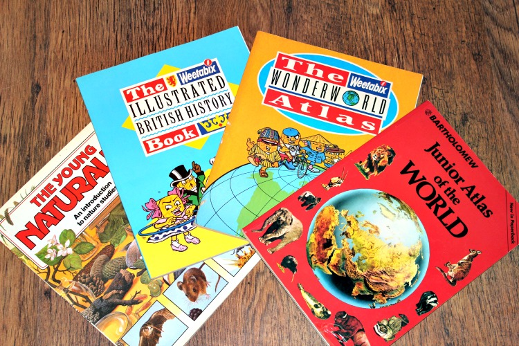 Did anyone else collect the tokens on the Weetabix packets to get the books? I was fascinated with maps as a kid and would spend ages studying my atlases. You think after showing all that early promise that I would grow up to be a brainy academic type. Sadly  this is not the case. I am a dumb ass!
