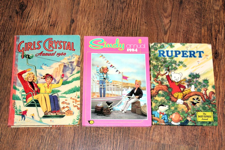More annuals that I bought in charity shops when I was a kid. Not because it was vintage/trendy but because I grew up with thrifty/skint parents and grandparents.