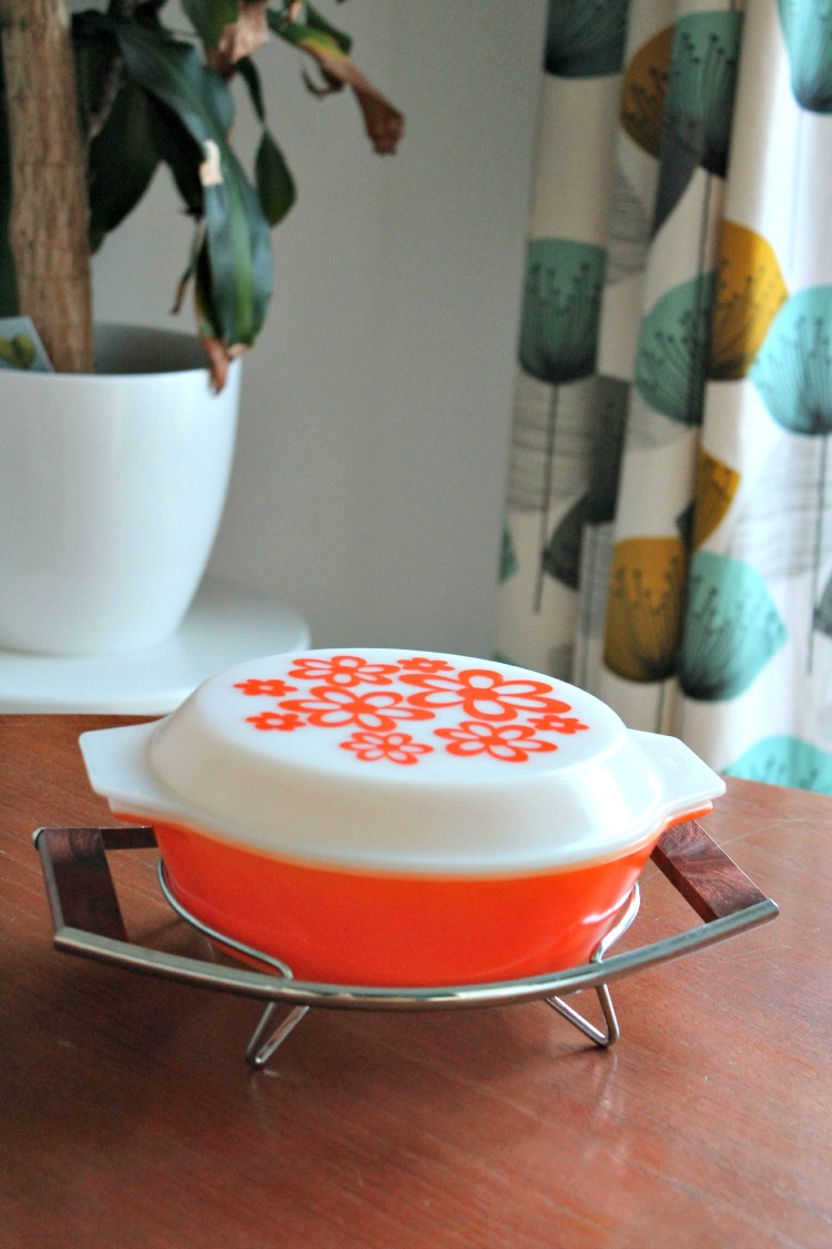 orange pyrex