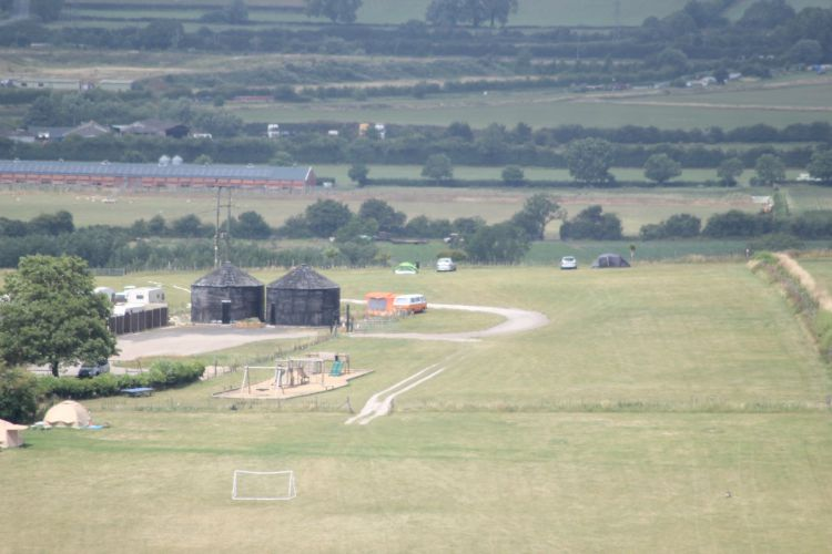 Look its our van from the top of the beacon (with a zoom lens)!